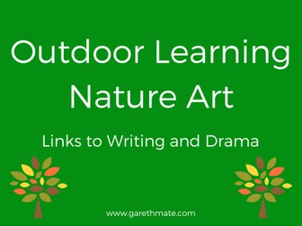 Outdoor Learning - Nature Art