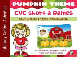 Build CVC Short a Words Games
