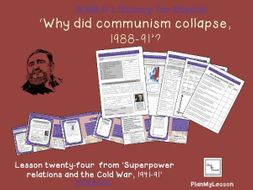 GCSE Edexcel 9-1 The Cold War:  Why did communism collapse, 1988-91?