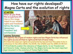 Magna Carta Citizenship GCSE