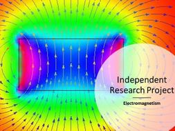 Independent Research Project - electromagnetism - differentiation tool -revised
