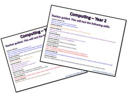 Computing Assessments Bundle: KS1 (Year 1 & 2)