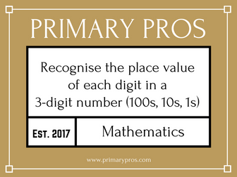 place value year 3 by primarypros teaching resources. Black Bedroom Furniture Sets. Home Design Ideas