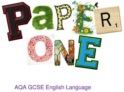 Complete AQA language paper 1 revision pack