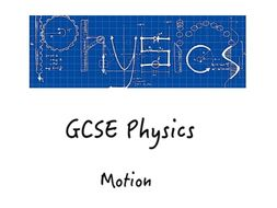 GCSE Motion Booklet (Preview)