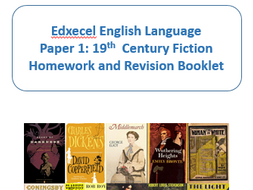 EDEXCEL GCSE NEW SPEC ENGLISH LANGUAGE PAPER 1 READING PRACTICE EXTRACTS  AND QUESTIONS