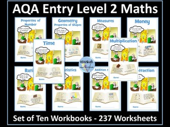AQA Entry Level 2 Maths