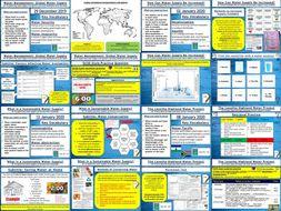 AQA GCSE Geography: Water Management Bundle