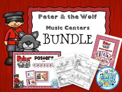 Peter & the Wolf Music Centers Bundle