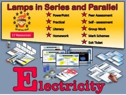 Current Electricity-Lamps in Series and Parallel Circuits KS3