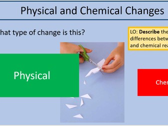 Physical Changes vs Chemical Reactions