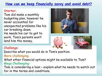 Personal Finance / Money - Careers