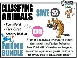 Classifying Animals Bundle [Mini]