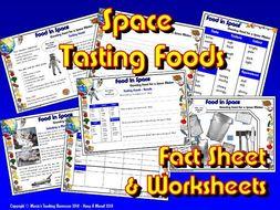 Food in Space / KS1&2 Science / Tasting Foods