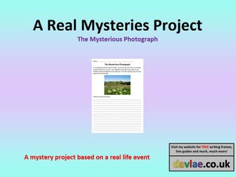 The Mysterious Photograph Project