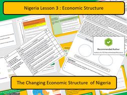 AQA 9-1 Case Study Nigeria : Changing Economic Structure