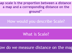 Map Skills - L4 Scale (Lesson and Resources)