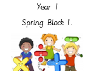 Addition and Subtraction, Year 1, Spring Block 1.