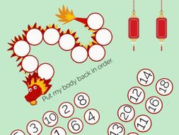 Chinese Dragon Ordering Numbers