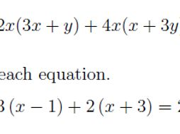 Expanding and simplifying expressions worksheet no 2 (with solutions)
