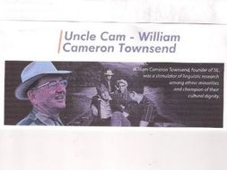 Uncle Cam - William Cameron Townsend