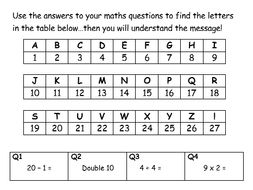 Crack the Code (Maths is Awesome)