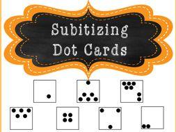 Subtitizing Dot Cards