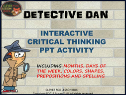 critical thinking powerpoint game grade 1 2 by suzeyuill