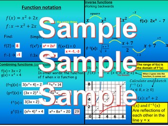 Functions - Chapter 2 - International Baccalaureate - Standard Level