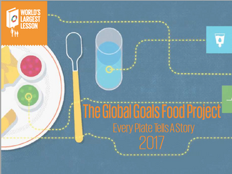 The Global Goals Food Project - Every Plate Tells A Story