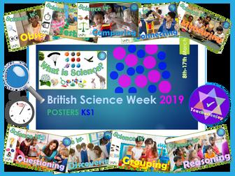 British Science Week 2019 KS1 Posters
