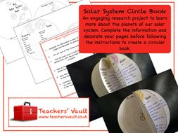 Solar System Circle Book