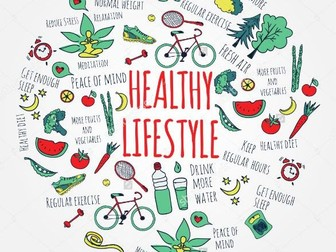 Healthy lifestyles 7 lesson pack and workbook