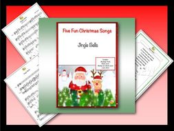 "Five Fun Christmas Songs ""JINGLE BELLS"""
