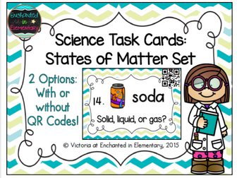 Science Task Cards: States of Matter