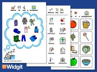 Foundation Knowledge 1 - Language Support with Widgit Symbols