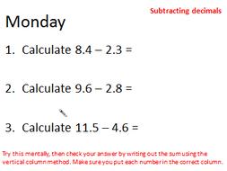 Morning Maths Upper KS2 (6 weeks)