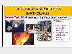 Tectonics: L2 Earths Structure & Resources