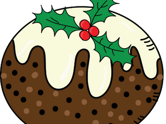 Christmas Pudding - free clipart