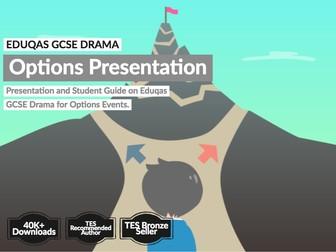 EDUQAS GCSE Drama Options Presentation and Student Guide