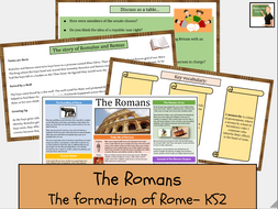 History- The Romans- The formation of Rome KS2