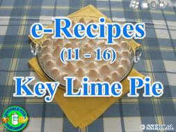 41. Key Lime or Lemon Pie (e-Recipe)