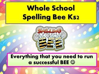 Whole School Spelling Bee