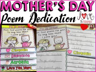 MOTHER'S DAY: POEM DEDICATION
