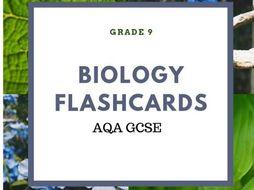 AQA BIOLOGY FLASHCARDS PHOTOSYN & EYE GCSE