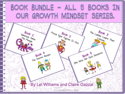 Book Bundle – All 5 Books in the Growth Mindset Series by The World Of Whyse.