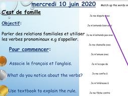 Studio AQA French- Module 1 Qui suis-je Unit 2 C'est de famille (Foundation/Higher)