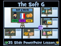 Soft G Sound and Words