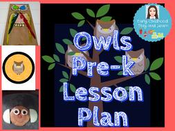 Owls Lesson Plan