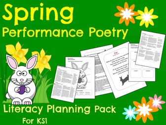 Spring Performance Poetry Pack - Year 1 & 2